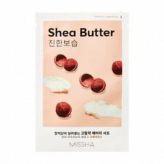 Маска тканевая питательная с маслом Ши MISSHA Airy Fit Sheet Mask Shea Butter