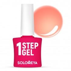 SOLOMEYA Гель-лак однофазный для ногтей, 26 диско / One Step Gel Disko 5 мл