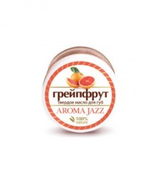 AROMA JAZZ Масло твердое для губ Грейпфрут 15 мл