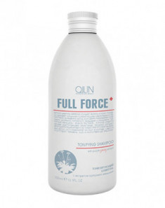 Шампунь тонизирующий с экстрактом пурпурного женьшеня OLLIN Full Force Tonifying 300мл