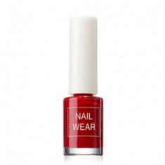 Лак для ногтей The Saem Nail Wear 06_fashionking red 7мл
