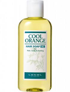 Шампунь против выпадения волос Lebel Cool Orange HAIR SOAP SUPER COOL 200мл