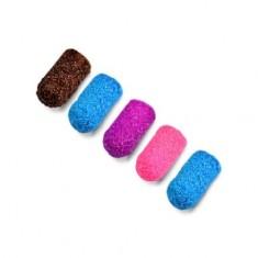 Patrisa Nail, Колпачки песочные 5 мм, 180 грит, цветные
