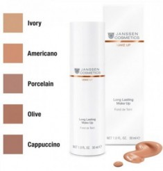 Тональный крем с UV-защитой SPF-15 Janssen Cosmetics Perfect Radiance Make Up №04 американо 30мл