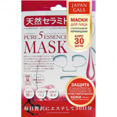 Маска с натуральными керамидами Japan Gals Pure5 Essential 30 шт