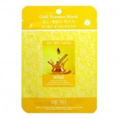 Маска тканевая золото Mijin Gold Essence Mask 23г