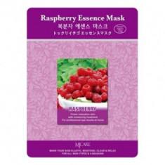 Маска тканевая малина Mijin Raspberry Essence Mask 23гр