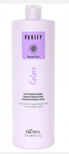 Шампунь для окрашенных волос Kaaral Purify-Colore Shampoo 1000мл