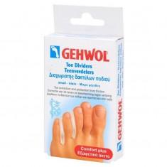 Gehwol, toe dividers teenverders, гель-корректоры между пальцев, маленькие, 3 шт