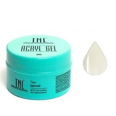 Tnl, acryl gel, акрил гель, прозрачный, 18 мл