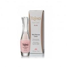 Trind, nail repair color pink, укрепитель ногтей цветной, розовый, №7, 9 мл