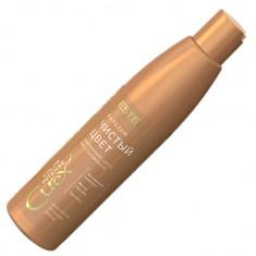 бальзам curex color intense чистый цвет для тёплых оттенков блонд 250мл. estel 1/10 Estel Professional
