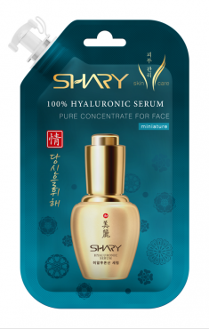 SHARY Сыворотка гиалуроновая 100% для лица / Hyaluronic 20 мл