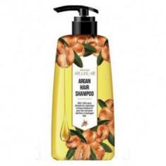 Шампунь для поврежденных волос Welcos Around me Argan Hair Shampoo 500мл