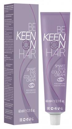 KEEN Краска для бровей и ресниц, коричневая / Braun SMART EYES 60 мл
