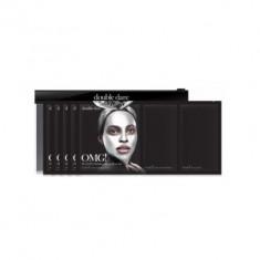 Трёхкомпонентный комплекс масок АКТИВНЫЙ ЛИФТИНГ И ВОССТАНОВЛЕНИЕ Double Dare OMG! Platinum Silver Facial Mask