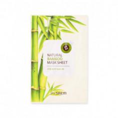 Маска тканевая с экстрактом бамбука THE SAEM Natural Bamboo Mask Sheet 21мл