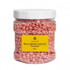 Planet Nails, Воск горячий в гранулах, розовый, 300 г