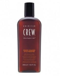 Шампунь для ежедневного ухода, очищающий волосы от укладочных средств American Crew POWER CLEANSER STYLE REMOVER SHAMPOO 250мл