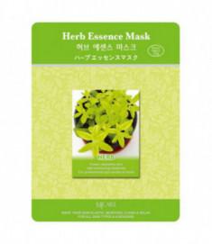 Маска тканевая экстракты трав Mijin Herb Essence Mask 23г