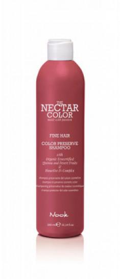Шампунь для окрашенных тонких волос Color Preserve Shampoo 300мл NOOK