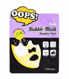 Маска пузырьковая для сияния кожи Berrisom Soda Bubble Mask Brighten Fruit 18мл