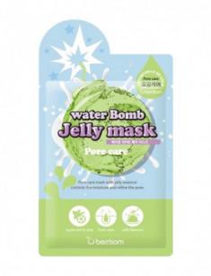 Маска для лица с желе сужающая поры Berrisom water Bomb Jelly mask Pore care 33мл