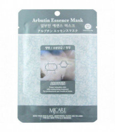 Маска тканевая с арбутином Mijin Arbutin Essence Mask 23г
