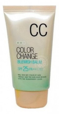 СС крем Welcos Lotus Color Change Blemish Balm 50мл