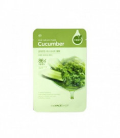 Маска с экстрактом огурца THE FACE SHOP REAL NATURE MASK SHEET CUCUMBER