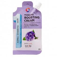 крем для лица утренний увлажняющий eyenlip morning boosting cream