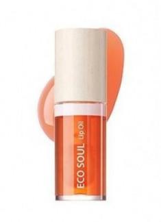 Масло для губ THE SAEM ECO SOUL Lip Oil 03 Grapefruit 30г