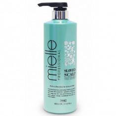шампунь против выпадения волос с морскими водорослями jps seaweed scalp clinic shampoo