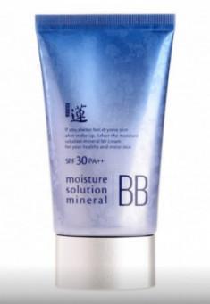 BB-крем минеральный Welcos Lotus Moisture Solution Mineral BB Cream 50мл