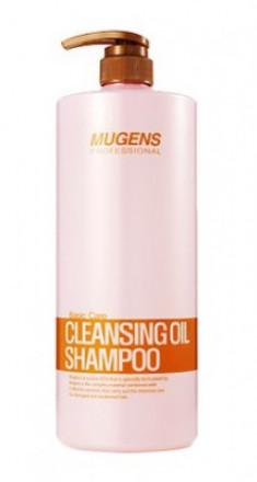 Шампунь для волос аргановым маслом Welcos Mugens Cleansing Oil Shampoo 1500г