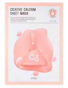 Тканевая маска с кальцием A'PIEU Cicative Calcium Sheet Mask 22г