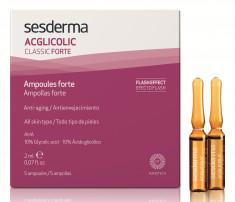 SESDERMA Средство в ампулах (с гликолевой кислотой 10%) / ACGLICOLIC Classic Forte 5*2 мл