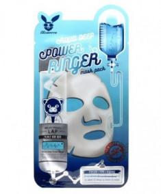 Набор тканевых масок увлажняющих ELIZAVECCA Aqua Deep Power Ringer Mask Pack 23мл*10шт