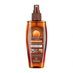 Флоресан масло интенсивный загар SPF25 водостойкое 150мл Floresan