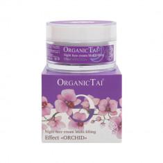 ORGANIC TAI Крем ночной для лица мульти-лифтинг эффект, Орхидея 50 мл