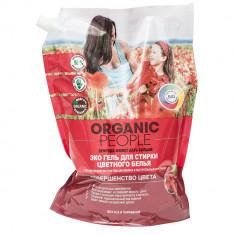 Organic people ЭКО Гель для стирки цветного белья 2л