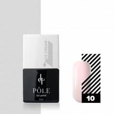 Pole, Гель-лак Ice cream №10, Йогуртовая клубника