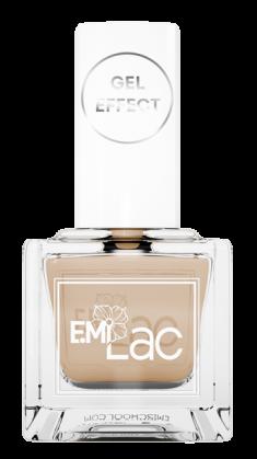 E.MI 009 лак ультрастойкий для ногтей, Классический беж / E.MiLac Gel Effect 9 мл