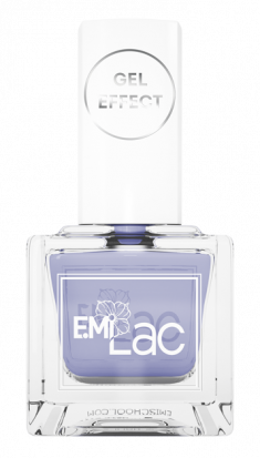 E.MI 045 лак ультрастойкий для ногтей, Безмятежность / E.MiLac Gel Effect 9 мл