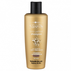 Шампунь для волос, блокирующий нежелательный жёлтый оттенок Hair Company INIMITABLE BLONDE Anti-Yellow Shampoo 250мл