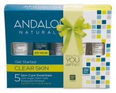 ANDALOU NATURALS Набор из 5 мини продуктов Комплексное очищение лица