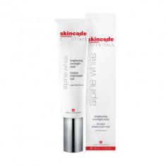 Осветляющая ночная маска Skincode Essentials Alpine White Brightening Overnight Mask 50 мл