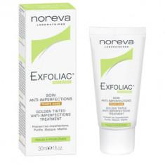 Крем тональный для проблемной кожи Noreva Exfoliac золотистый 30мл
