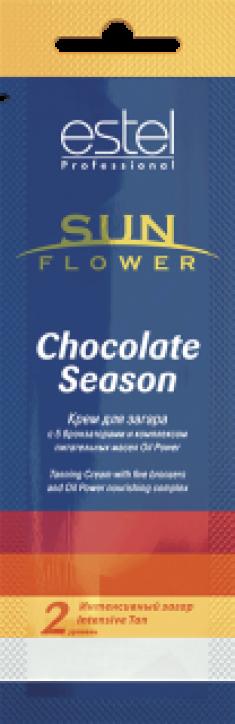 ESTEL PROFESSIONAL Крем для загара / Sun Flower Chocolate Season 15 мл