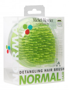 MICHEL MERCIER Щетка компактная для нормальных волос / Travel Detangling Brush for Normal hair